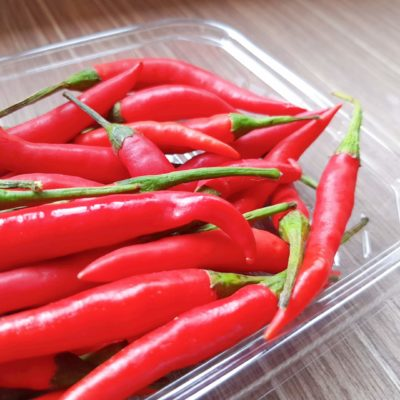 local red chillies