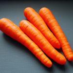 fresh carrot on Claude & Clari